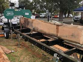 Hardwood Mills Portable Sawmill Trailer - picture1' - Click to enlarge
