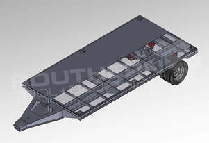 Interstate Trailers 9 Ton Flatbed Trailer [Super Series] ATTTAG