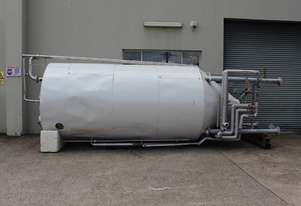 Fallsdell Machinery Stainless Steel Jacketed Tank