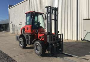 2020 Summit 3 Tonne 4WD Rough Terrain Forklift with 2 Stage 4 Meter Mast