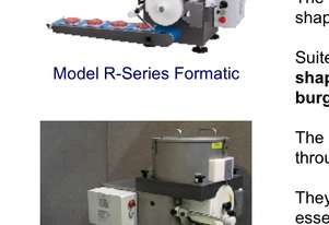 Formatic Forming and Portioning Machine