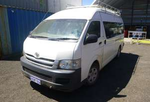 2008 Toyota Hiace Commuter (200 Series) 13 Seat Micro Bus