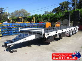 Tri Axle 28 Ton ELITE Tag Trailer Custom BLK ATTTAG - picture0' - Click to enlarge