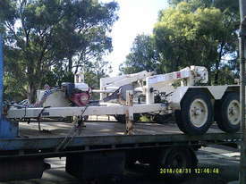 6ton tandem cable drum recovery trailer , refurbished - picture0' - Click to enlarge
