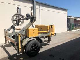Redmond Gary 3 Tonne Self Loading Cable Trailer inc. Drum Drive - picture0' - Click to enlarge