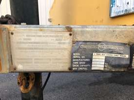 Redmond Gary 3 Tonne Self Loading Cable Trailer inc. Drum Drive - picture7' - Click to enlarge