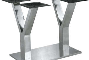 SL13-58-576 YY-Shape Stainless Steel Table Base 350H