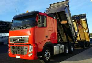 2010 Volvo FH500 (6x4) Bisalloy Tipper