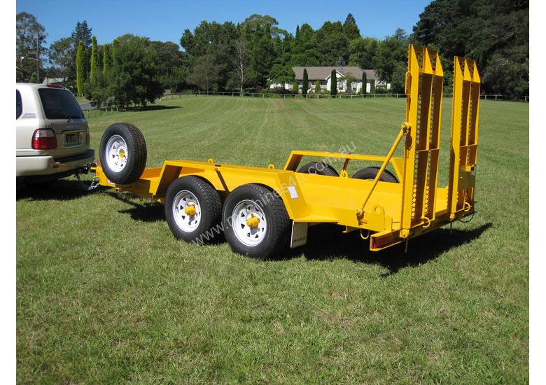 No.16 Tandem Axle Plant Transport Trailer