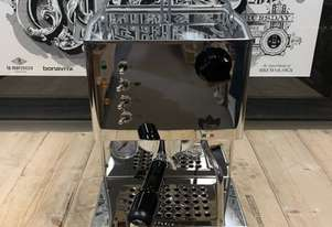QUICK MILL PIPPA 1 GROUP TANK BRAND NEW STAINLESS ESPRESSO COFFEE MACHINE