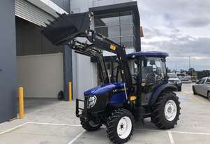 New Lovol M606 60hp Cabin Tractor with Front End Loader 4in1