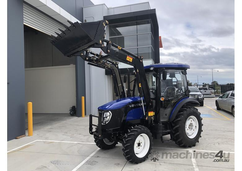 New Lovol M606 60hp Cabin Tractor with Front End Loader  Sale on Now!