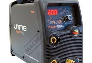 RAZOR DIGITAL PULSE AC/DC 200 Inverter TIG/ARC Welder 10-200A #KUM-M-RTIG200ACDC