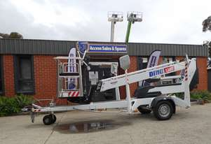 DINOLIFT DINO 130T TRAILER MOUNTED BOOM LIFT