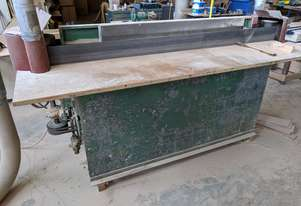 Edge Sander and assorted woodworking machinery for sale