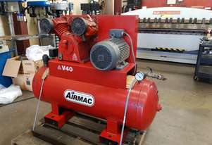 Airmac V40 Twin Cylinder Air Compressor