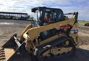 2015 CAT 259D TRACK LOADER WITH FULL OPTIONS INCLUDING HI-FLOW AND PREMIUM CAB