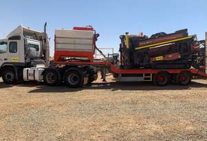 30/20 AT with Prime mover, trailer, complete setup ready to work