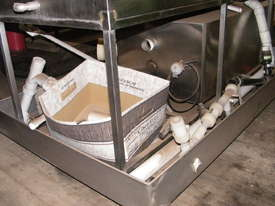 all stainless steel  Washing System - picture4' - Click to enlarge