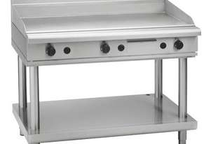 WALDORF 800 SERIES GP8120G-LS - 1200MM GAS GRIDDLE LEG STAND