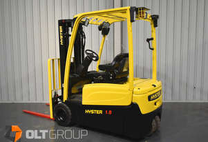 Hyster J1.8XNT Electric Forklift 3 Wheel Battery Electric Container Mast 4600mm Lift Height