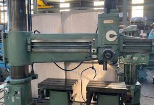 HMT RM-65 Radial Drill 2500 mm arm, twin box tables