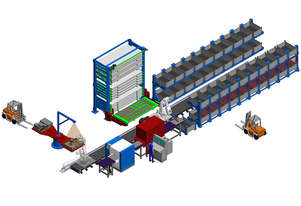 Zeman SPS - Scanning & Plate Sorting Machine