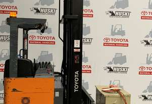 Toyota Forklift Reach 6FBRE16 located in Melbourne