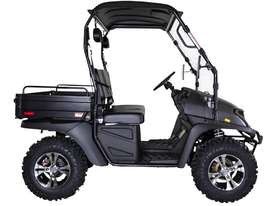 Cyclone 200 X2 Utility Vehicle With Windscreen, Roof And Alloy Wheels & Digital Display - picture2' - Click to enlarge