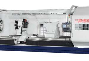 Sunfirm CMT series   CNC Heavy Duty Flat Bed  Lathe