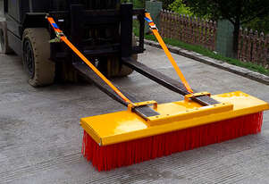 Forklift Broom 1800mm Heavy Duty 8 Row In Stock