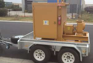 Trailer Mounted Transfer Water Pump