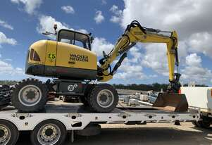 Wacker Neuson Excavator For Wet Hire.