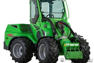 Avant 850 Compact Loader with Enclosed GT Cab