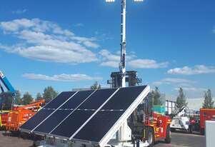 Solar / Diesel Hybrid Lighting Tower