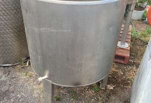 STAINLESS ASSOCIATES S/S tank