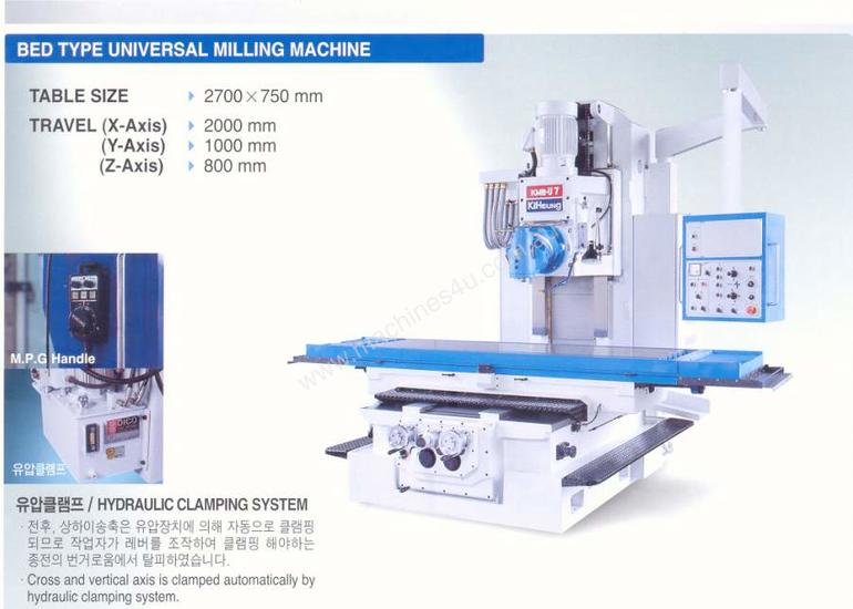 Kiheung POINT Series Universal Mills