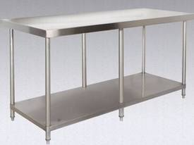 Brayco 3648 Wide Island Stainless Steel Bench(914m - picture0' - Click to enlarge