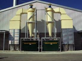 CYCLONE DUST EXTRACTION SYSTEMS - picture2' - Click to enlarge