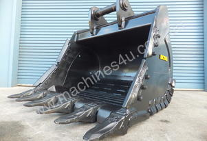 BOSS 20-110 TONNE ARMOURED HD ROCK DIGGING BUCKETS