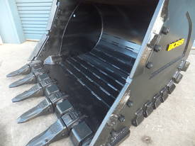 BOSS 20-110 TONNE ARMOURED HD ROCK DIGGING BUCKETS - picture5' - Click to enlarge