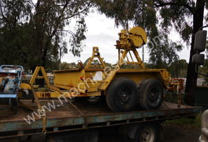 3ton cable drum trailer
