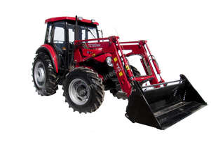 YTO904 90 hp aircab 4wd fel 4 in 1 bucket