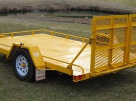 No.17H Single Axle Tilt Bed Plant Trailer Hyd Brak