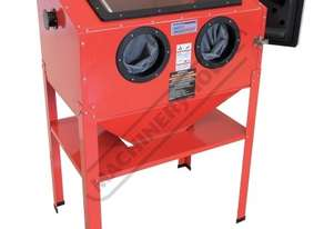 SB-200 Sandblasting Cabinet Recommended to be used with dust collector