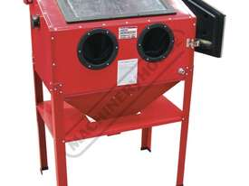 SB-200 Sandblasting Cabinet Recommended to be used