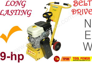 Concrete Scarifying Machine 9-hp Belt drive model