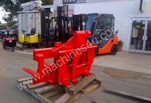 Bolzoni class 4 side shifting rotating fork clamp,