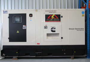 Used Cummins 110KVA Diesel Enclosed Generator