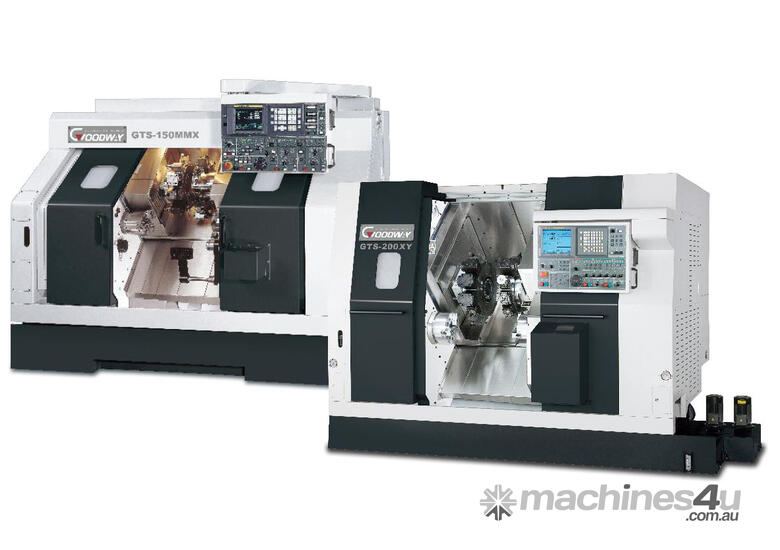 Goodway GTS Series Twin Turret  Twin Spindle